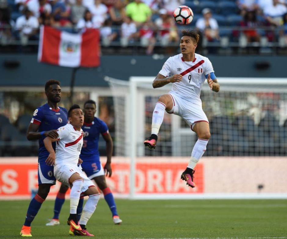 Perú comanda el grupo B de la Copa América Centenario, tras su triunfo ante los caribeños. (Foto: AFP)
