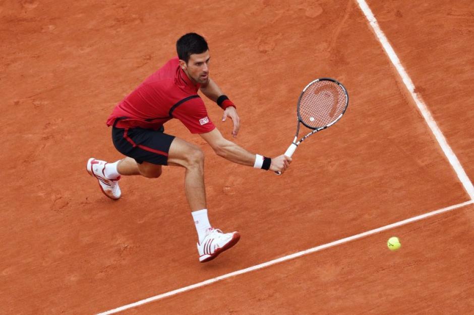 Partido intenso y con mucha calidad lo resolvió Djokovic. (Foto: AFP)