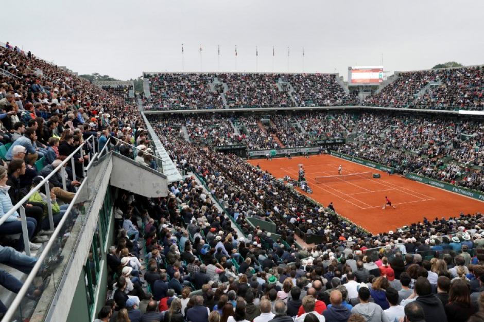 En este escenario se disputó la final del Roland Garros, en Francia. Lució sus mejores galas. (Foto: AFP)