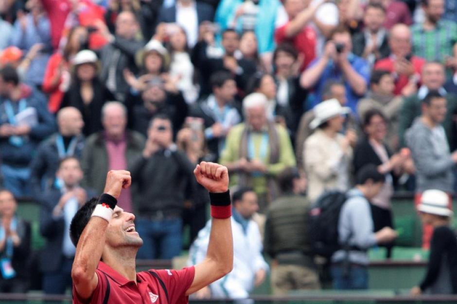 Djokovic venció en la final del Roland Garros a Andy Murray. (Foto: AFP)