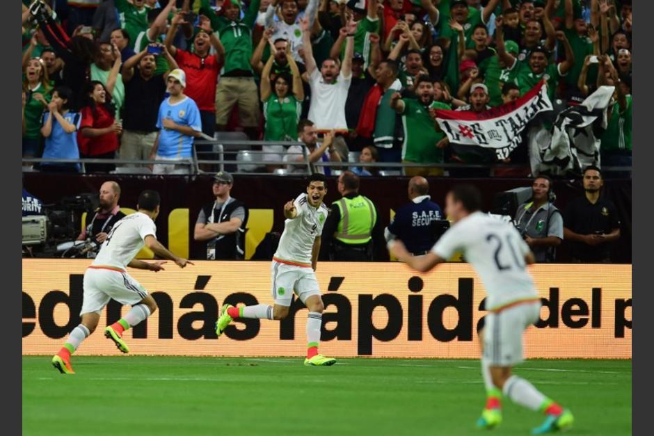 México debutó en la Copa América con triunfo y buen rendimiento. (Foto: AFP)