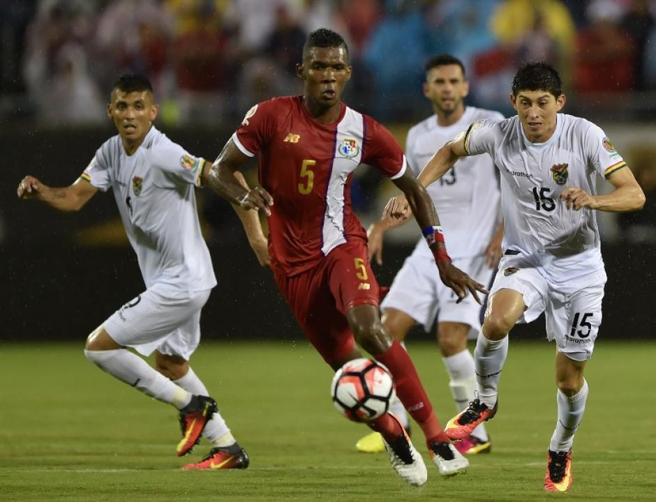 Panamá dominó la mayor parte del juego y debutó con tres puntos en la Copa América. (Foto: AFP)