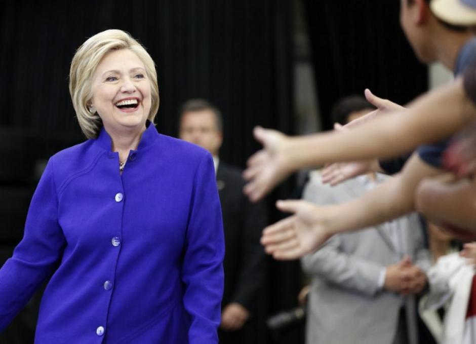 """Hillary Clinton dijo que Trump """"es una persona que nunca debería tener acceso a los códigos nucleares"""" (Foto: AFP)"""