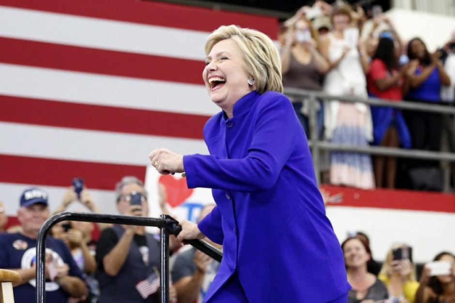 """Hillary Clinton se refirió durante su campaña a la """"intolerancia"""" y la """"dureza"""" en las ideas xenófobas del republicano. (Foto: AFP)"""
