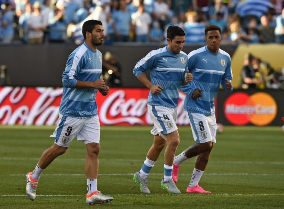 Luis Suárez no ha debutado en este torneo. (Foto: Don Emmert/AFP)