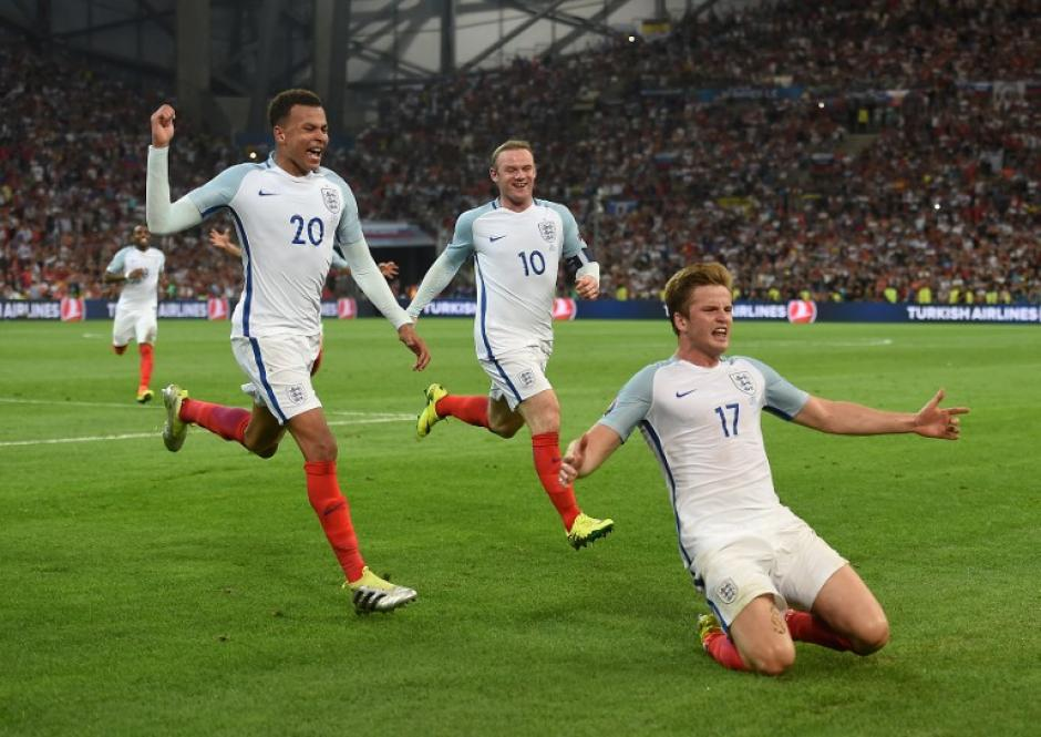 Eric Dier había adelantado a Inglaterra, pero sobre la hora les empataron. (Foto: AFP)