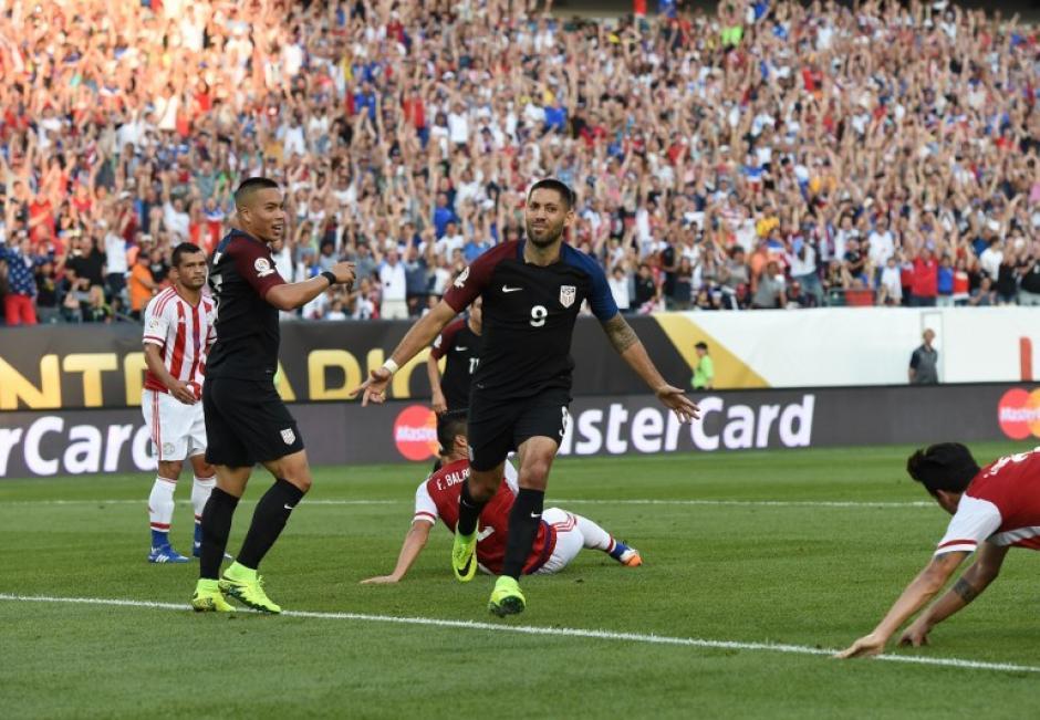 Clint Dempsey anotó el gol de los Estados Unidos de la clasificación a la siguiente ronda. (Foto: AFP)