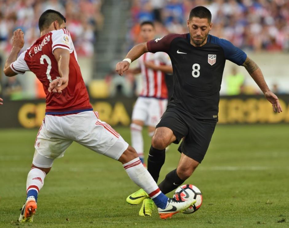 Dempsey sigue siendo el referente de gol de Estados Unidos. (Foto: AFP)