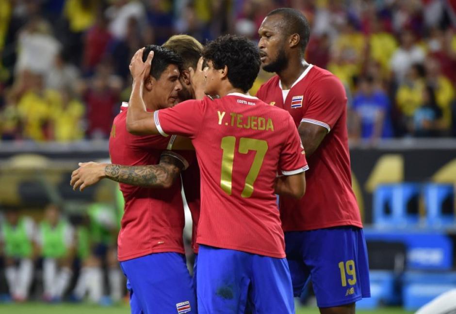 """Costa Rica se despide """"dignamente"""" de la Copa América Centenario. (Foto: AFP)"""