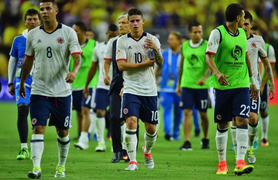 Colombia dejó escapar la oportunidad de ser líder del Grupo A, cayó ante Costa Rica. (Foto: AFP)
