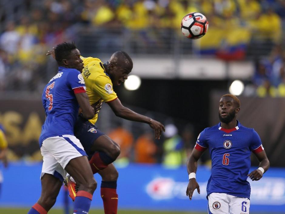 Ecuador está invicto en el grupo B, ganó un partido y empató dos. (Foto: AFP)
