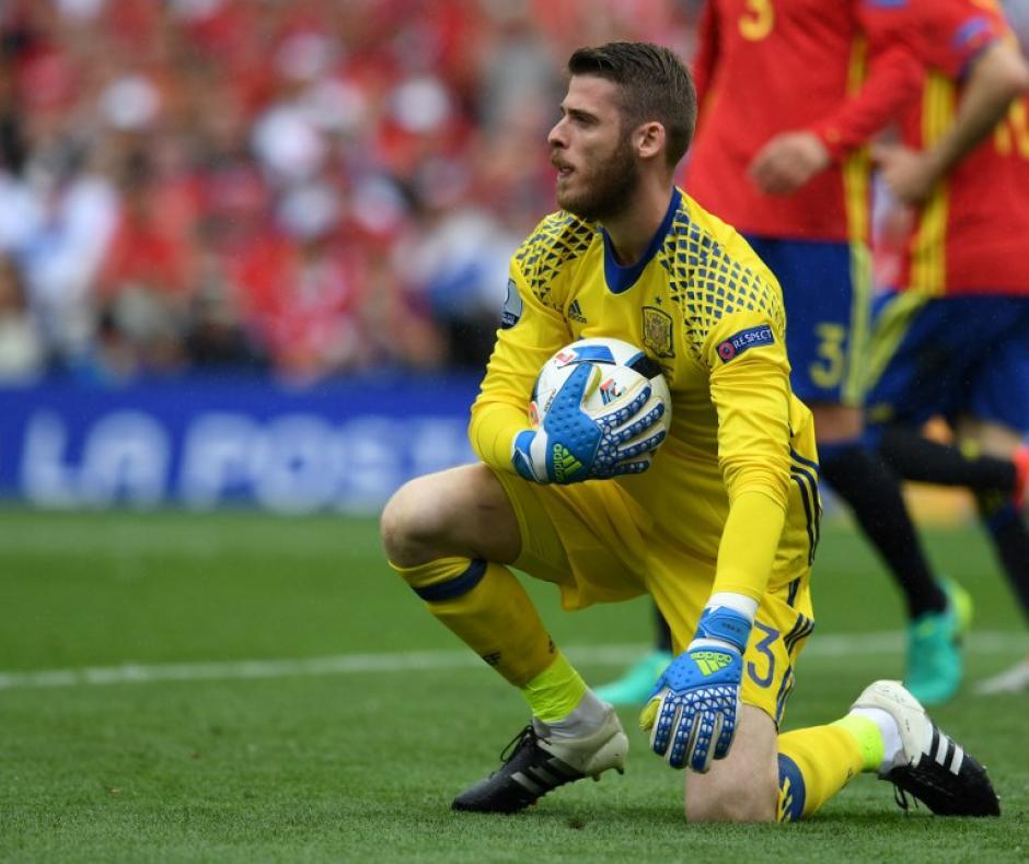 David De Gea, fue el portero titular de la Selección española. (Foto: AFP)