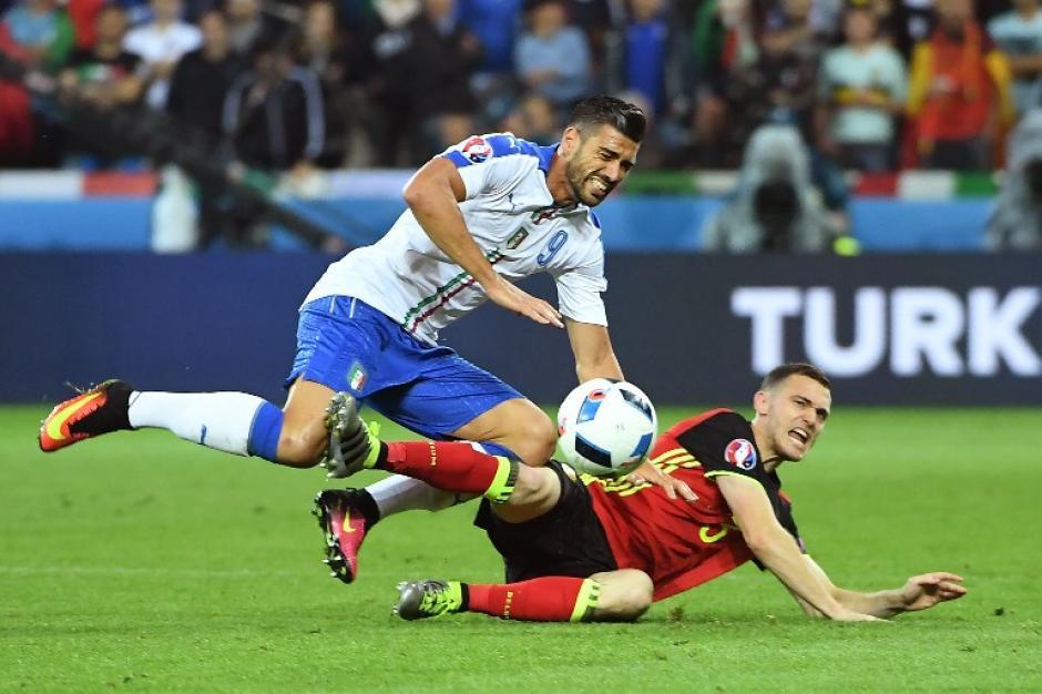 Italia manejó el partido, a pesar que por momentos fueron superados por los belgas. (Foto: AFP)