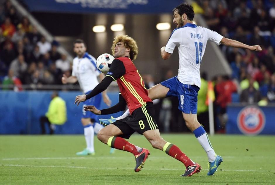 Bélgica tuvo una discreta presentación en la Euro 2016. (Foto: AFP)