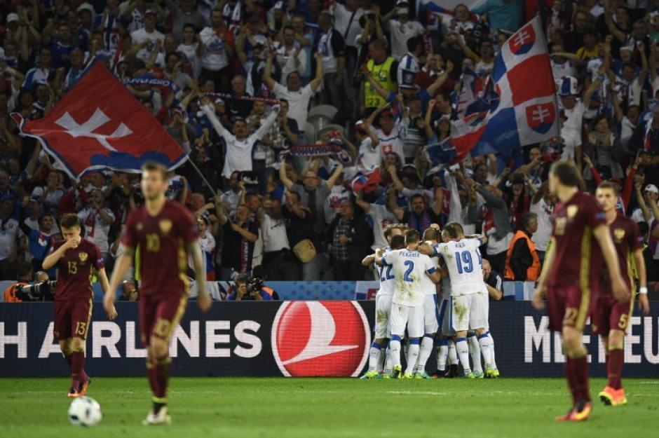 Eslovaquia obtiene su primera victoria en la historia de la Euro. (Foto: AFP)
