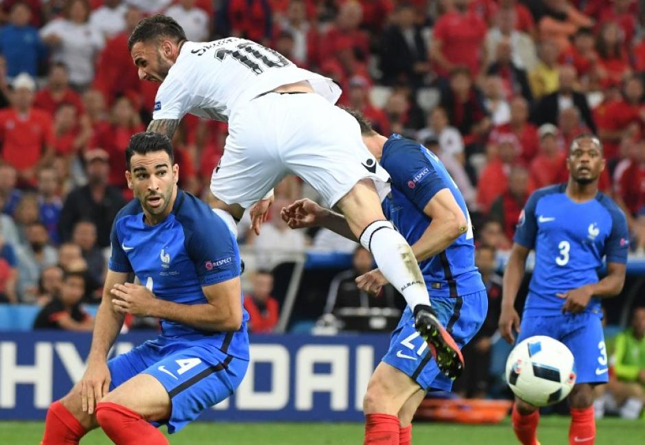 Albania opuso resistencia hasta los últimos minutos, pero no le alcanzó. (Foto: AFP)