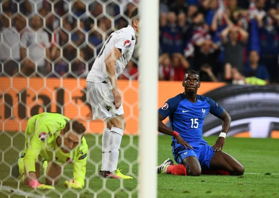 Francia espera rival para la ronda siguiente en la Euro. (Foto: AFP)