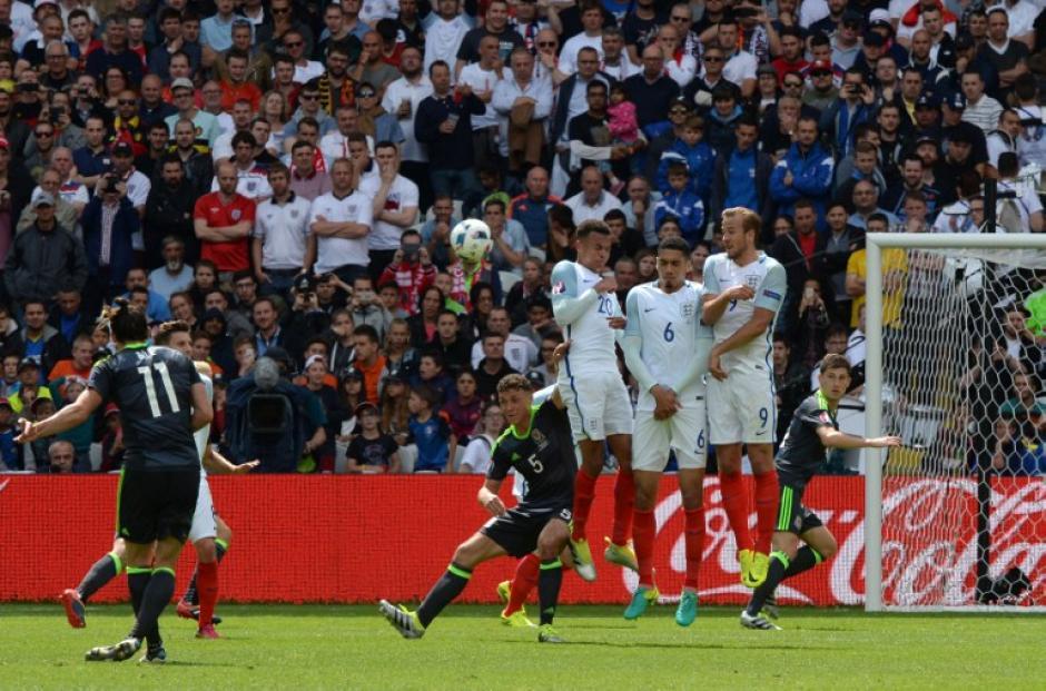 Bale había adelantado a Gales anotando de tiro libre. (Foto: AFP)