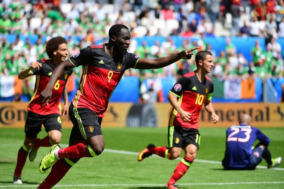 Bélgica consiguió sus primeros tres puntos en la Euro 2016. (Foto: AFP)