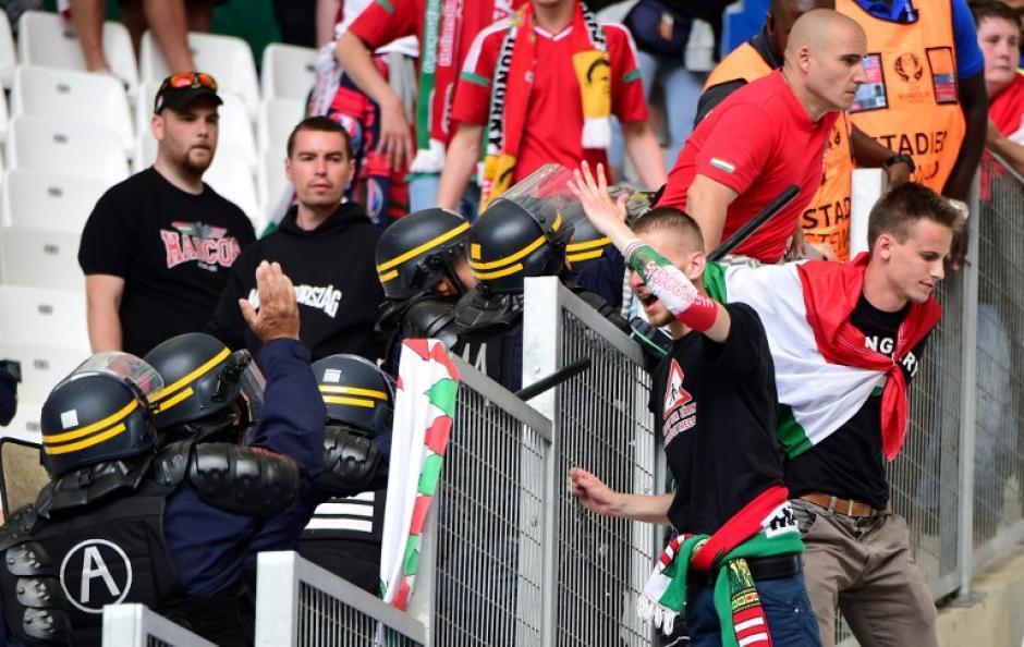 La policía identificó a los aficionados problemáticos y redobló la seguridad. (Foto: AFP)