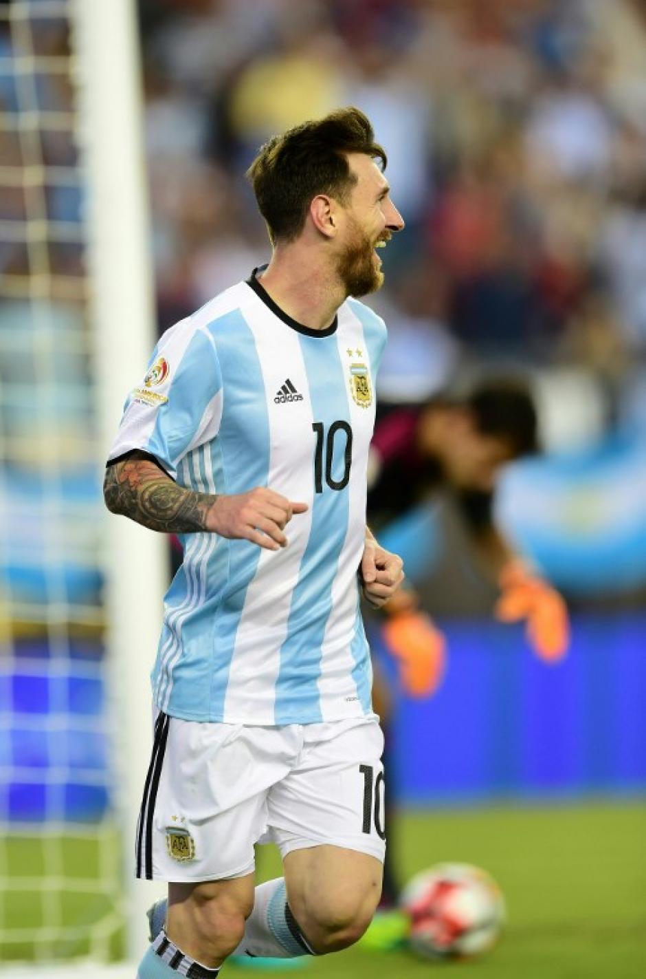 Messi, jugador récord, empató con 54 goles a Gabriel Batistuta como los máximos anotadores de la Selección de Argentina. (Foto: AFP)