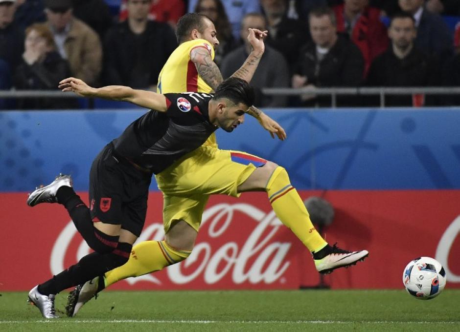 Rumania quedó en el fondo de la tabla con un punto. (Foto: AFP)
