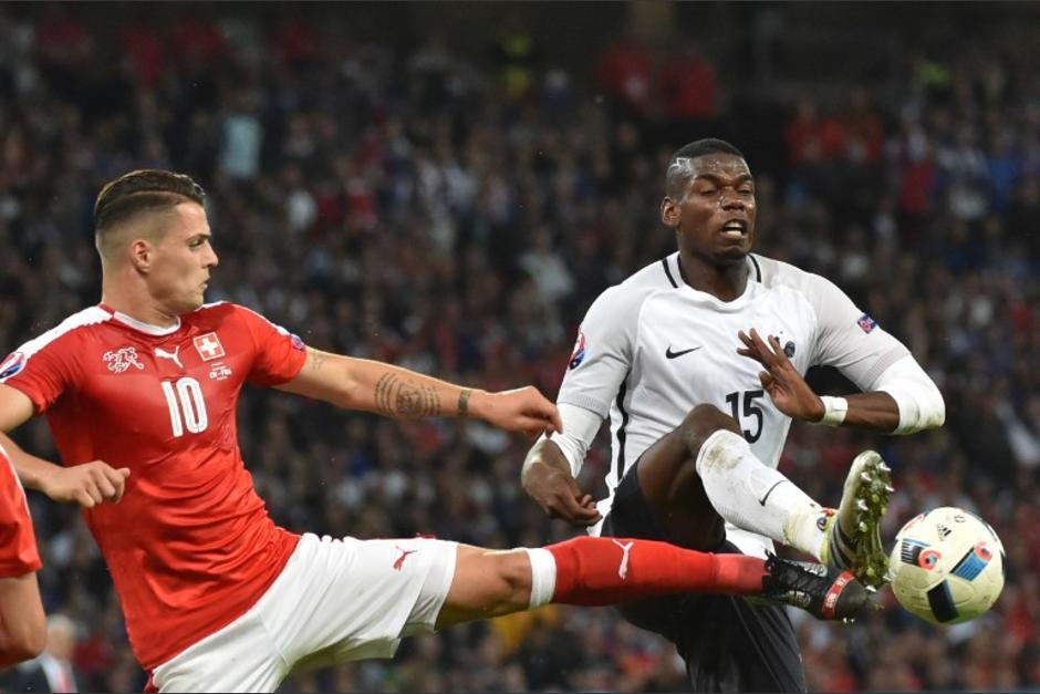 Francia y Suiza empataron en el cierre del Grupo A, pero ambos clasificaron a la siguiente ronda. (Foto: AFP)