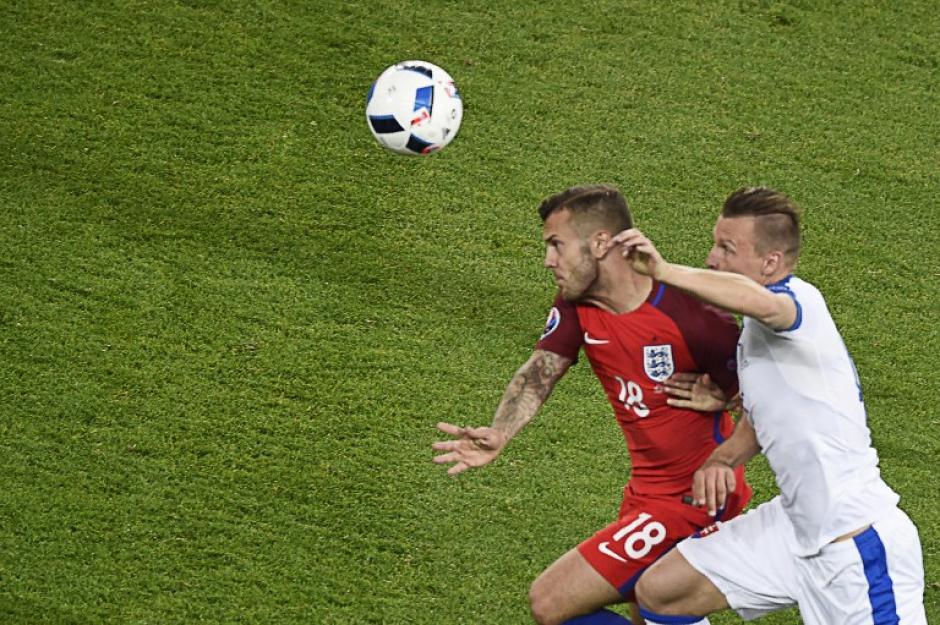 Inglaterra esperará rival para los octavos de final de la Euro, sería el segundo del Grupo F, donde está Hungría, Portugal, Islandia y Austria. (Foto: AFP)