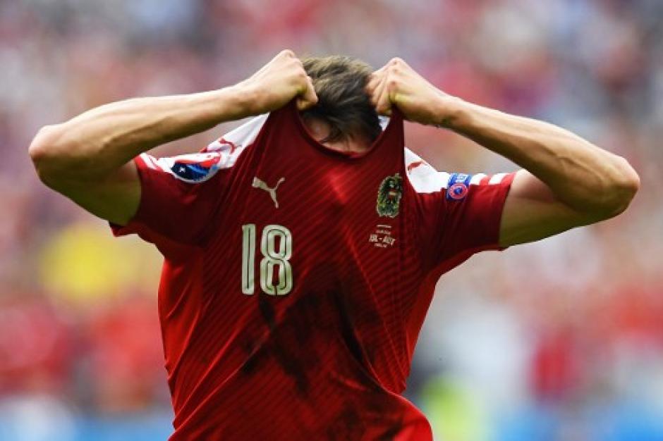 Los austriacos quedaron eliminados de la Eurocopa 2016. (Foto: AFP)