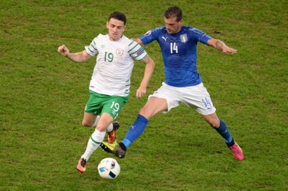 En la portería de Italia no figuró Gianluigi Buffon. (Foto: AFP)