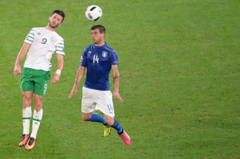 El otro clasificado, además de Italia e Irlanda fue Bélgica. (Foto: AFP)