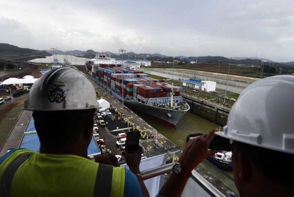Panamá inaugura el domingo la multimillonaria ampliación de su Canal. (Foto: AFP)