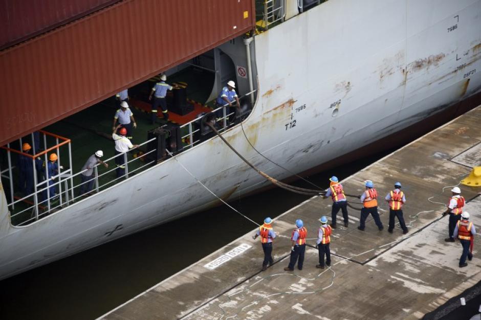 l proyecto consistió en la construcción de un tercer carril con nuevos juegos de esclusas. (Foto: AFP)