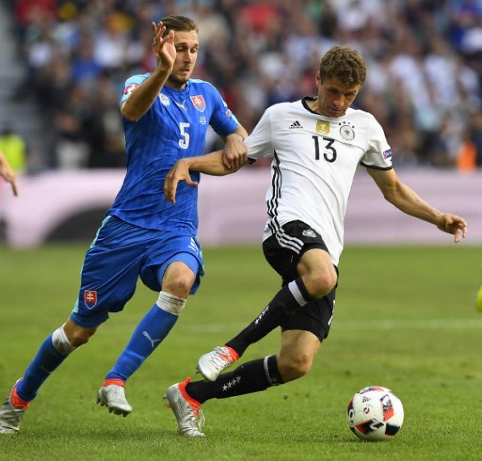 Alemania avanzó a cuartos de final de la Euro por cuarta vez desde 1996. (Foto: AFP)