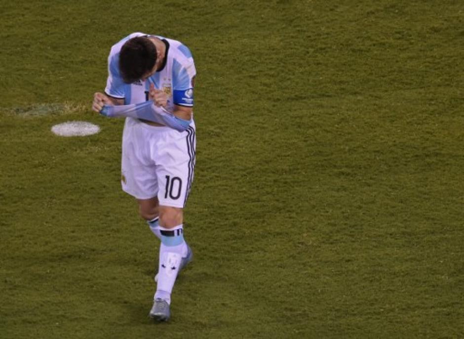 El argentino no ha levantado ningún título con su Selección. (Foto: AFP)