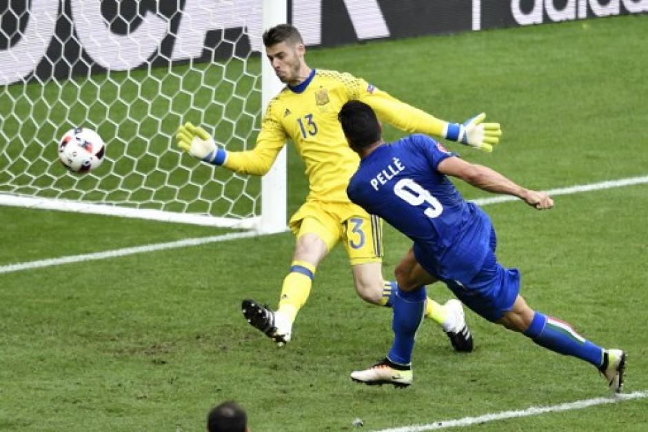 Pellè marcó goles clave ante Bélgica y España en la Euro. (Foto: EFE)