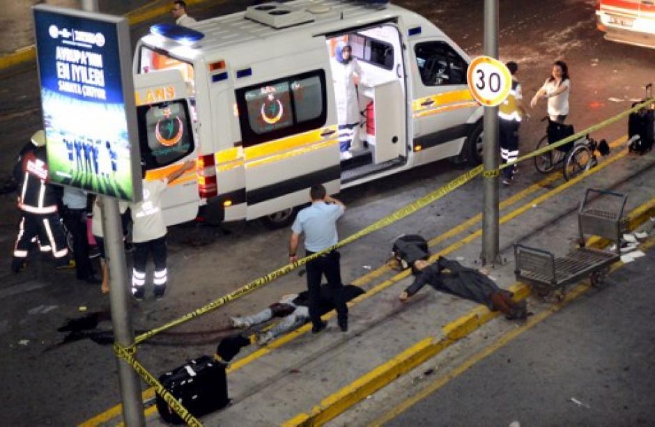 Las cámaras de seguridad captaron los momentos de la explosión. (Foto: AFP)