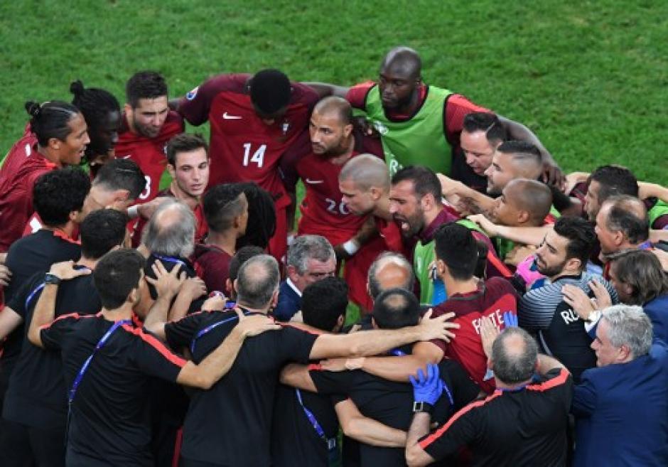 Los portugueses llegaron terceros a octavos de final y ahora ya están en semifinales. (Foto: AFP)