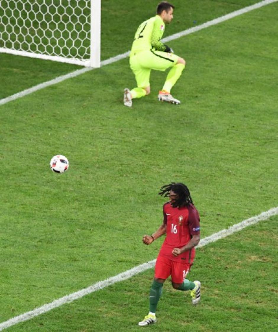 Sánchez fue fulminante y ayudó a Portugal a empatar ante Polonia. (Foto: AFP)