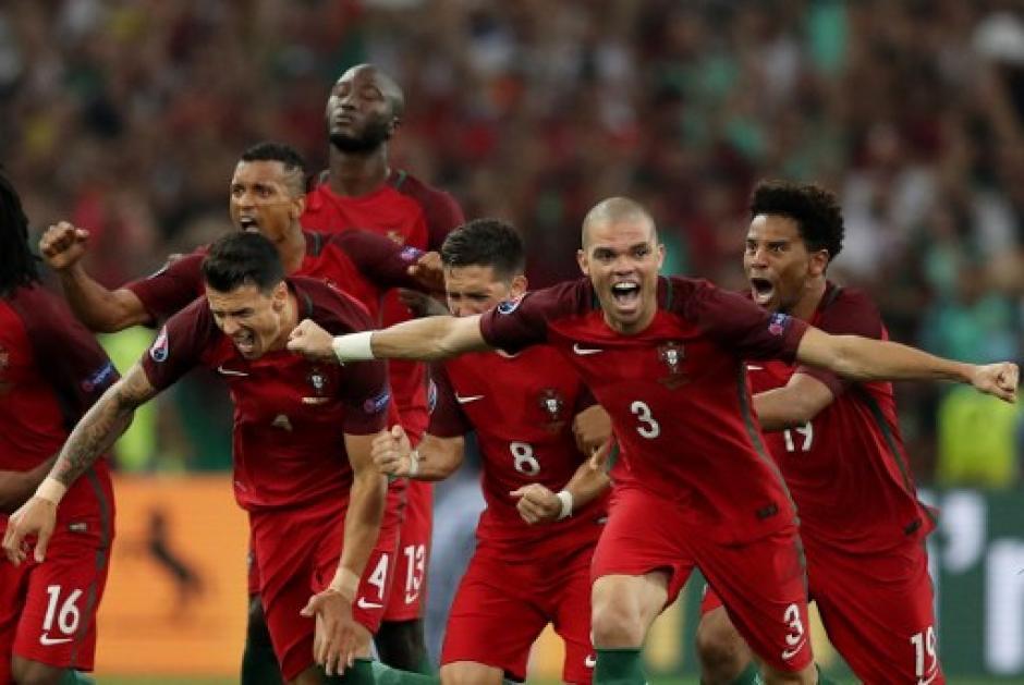 Portugal es el primer clasificado a cuartos de la Eurocopa 2016. (Foto: AFP)