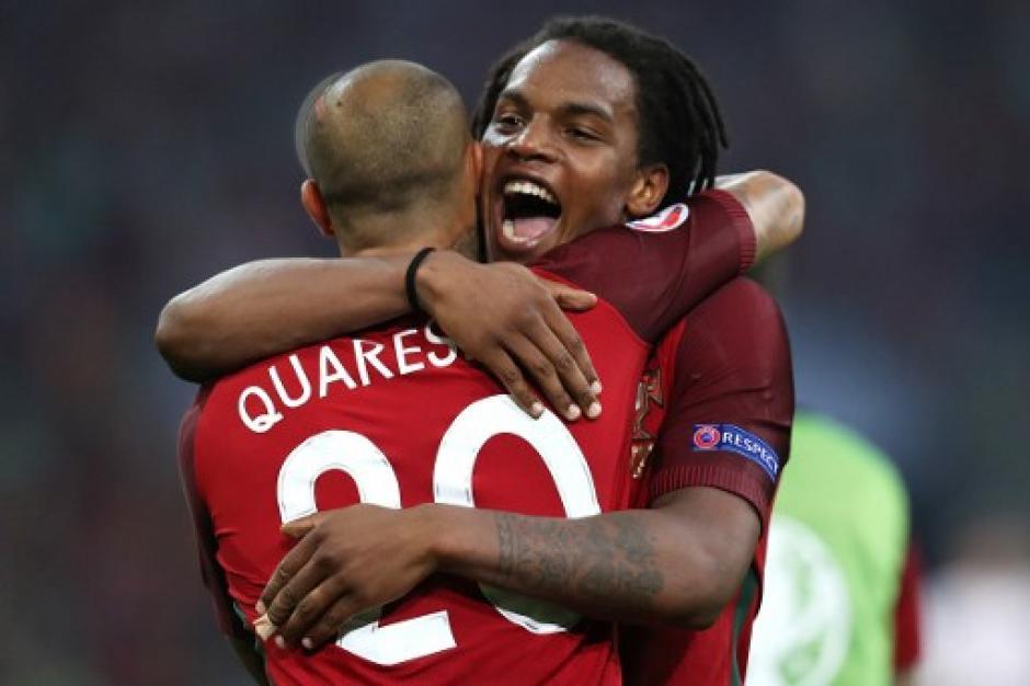 Renato Sanches se convirtió en el anotador más joven en la selección absoluta de Portugal. (Foto: AFP)