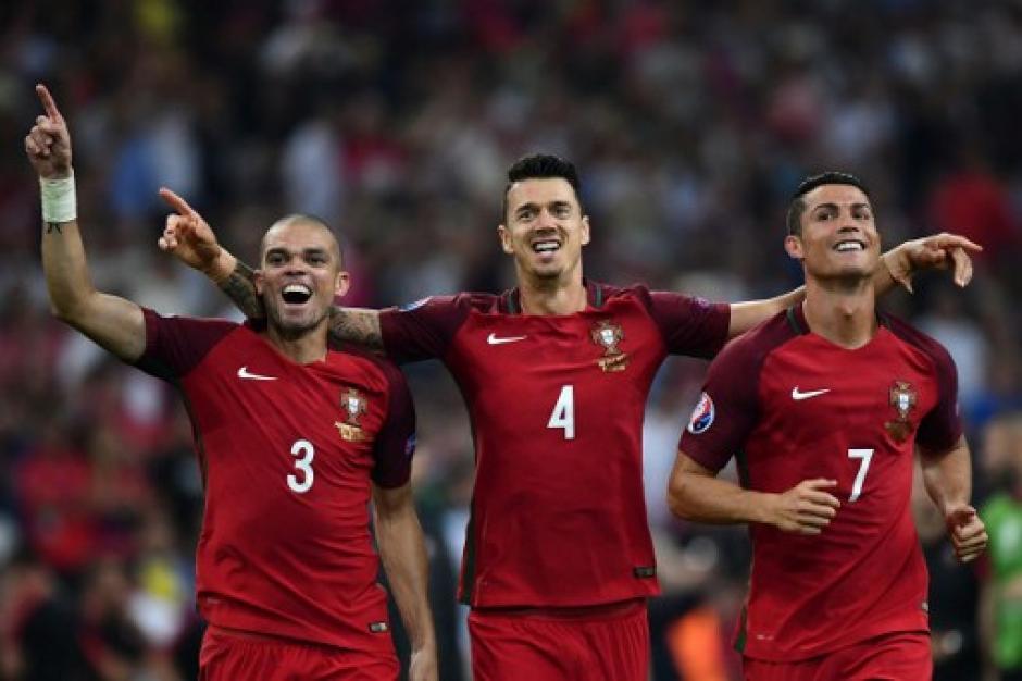 Los lusos eliminaron a Polonia en cuartos de final. (Foto: AFP)