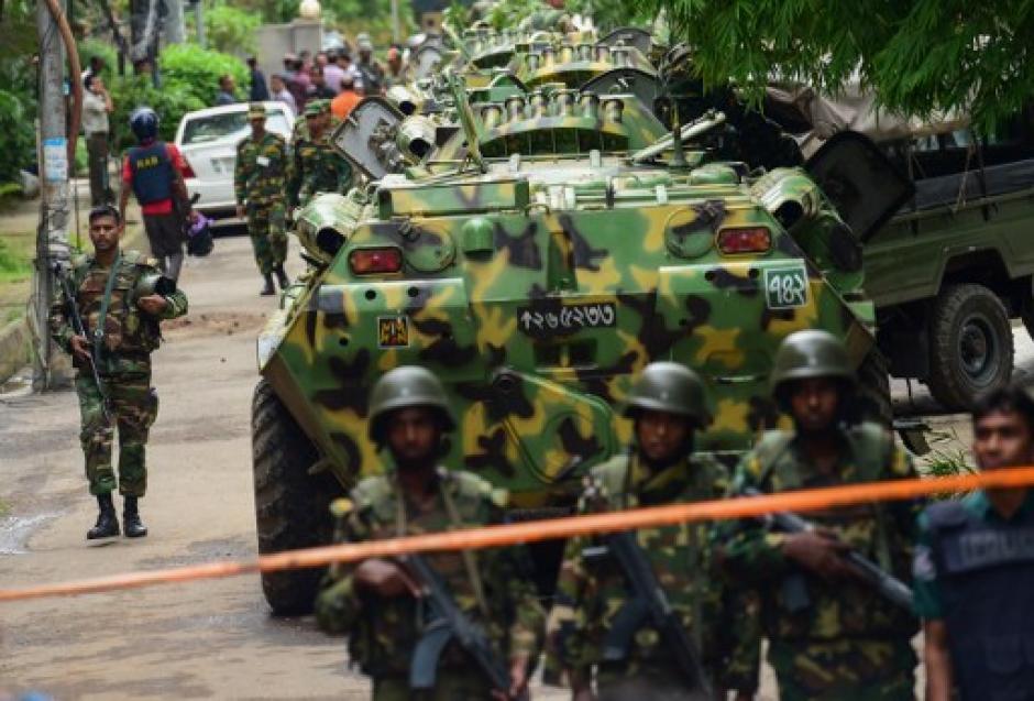 El atentando ocurrió en un barrio visitado por extranjeros, ahora quedó fuertemente custodiado. (Foto: AFP)