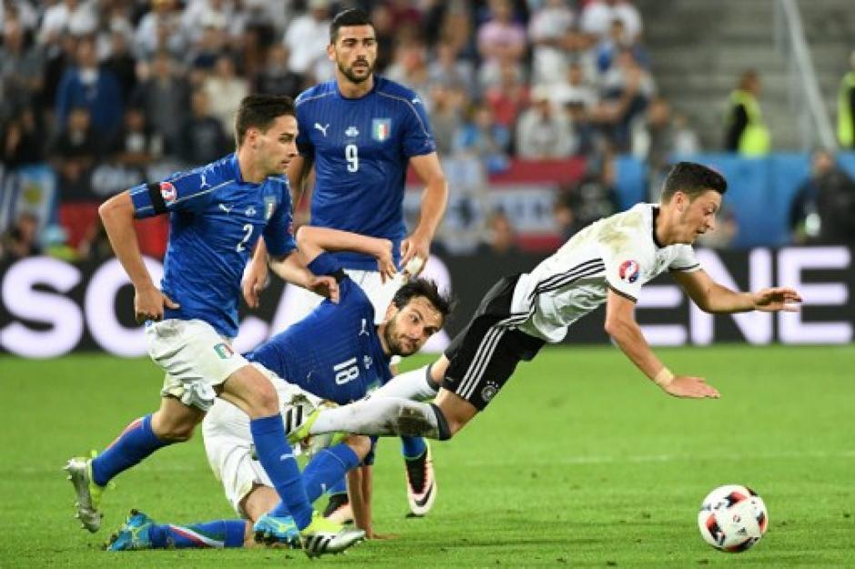 Alemania espera rival en la semifinal, saldrá del duelo entre Francia e Islandia. (Foto: AFP)