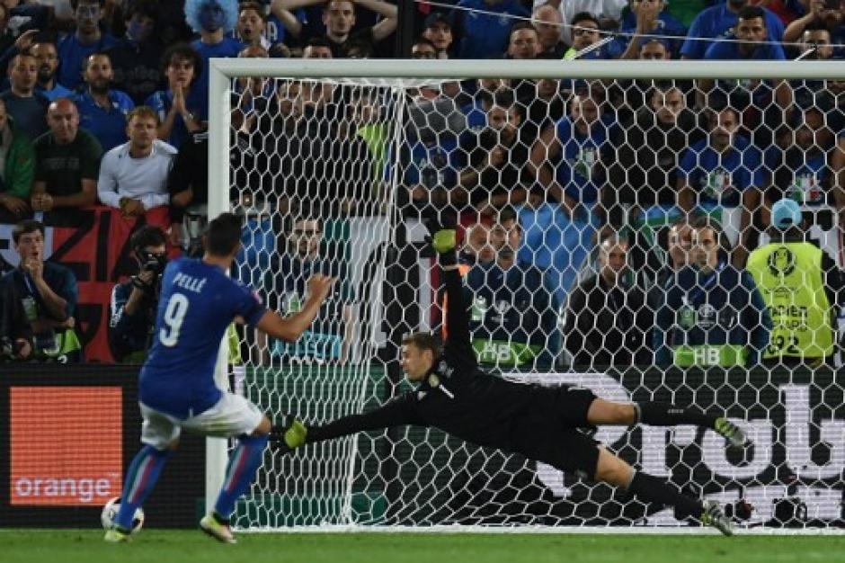 Italia falló cuatro penales y quedó fuera de la Euro. (Foto: AFP)
