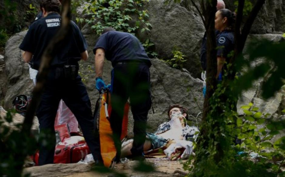 Un hombre resultó herido por una explosión en el principal parque de Nueva York. (Foto: AFP)