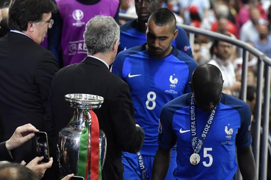 El francés llega después de quedar subcampeón en la Euro 2016 (AFP)