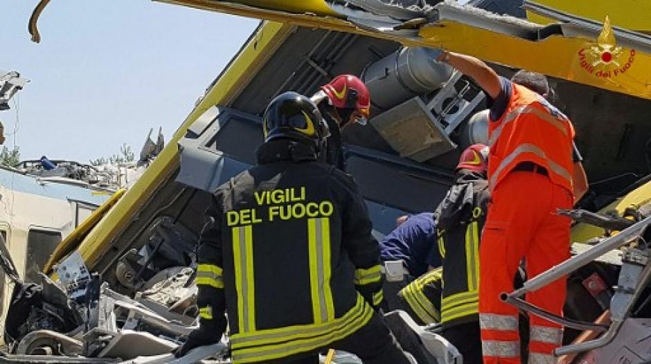 El accidente sucedió a las 11:30 en hora local de Italia. (Foto: AFP)