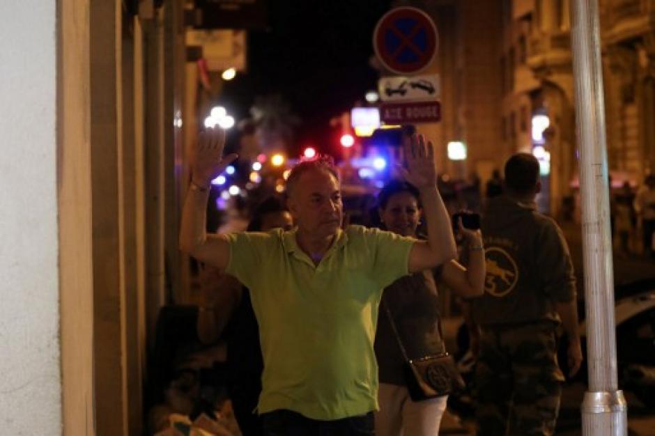 Imágenes de dolor se vivieron en Niza. (Foto: AFP)