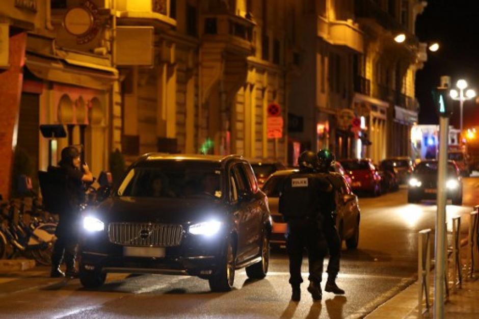 La policía local montó un gran operativo en el sector. (Foto: AFP)